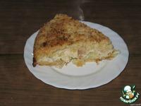 Пирог с творогом и яблоками ингредиенты