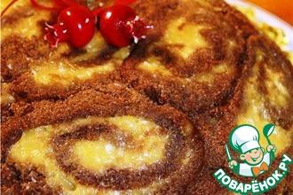 Рецепт: Торт Рождественская бомба