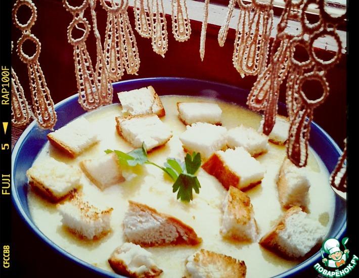 Рецепт: Сырный суп-пюре