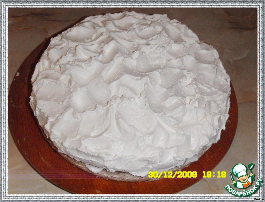 Маковый торт Новогодний