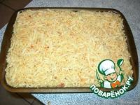 Картофельная запеканка с фаршем ингредиенты