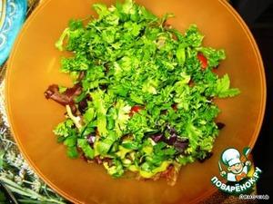 Chopped fresh herbs,