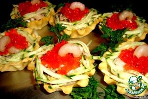 Тарталетки «Фаберже» – кулинарный рецепт