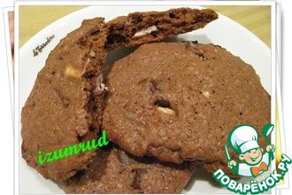 Рецепт: Печенье для шокоголиков