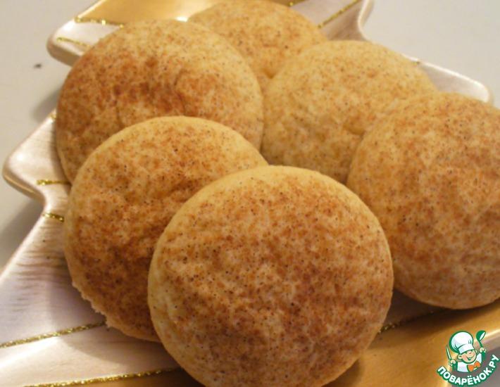 """Нежное сахарное печенье с корицей """"Сникердудлс"""""""