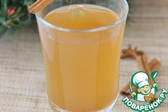 Рецепт: Рождественский яблочный напиток