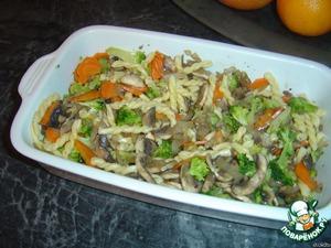 Запеканка с брокколи – кулинарный рецепт