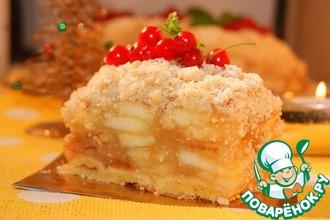 Рецепт: Венский яблочный пирог по рецепту К. Шумахера
