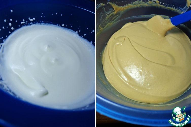 """Пирожные """"Шу"""" с карамельным кремом"""