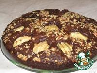"""Пирог """"Яблоки в шоколаде"""" ингредиенты"""