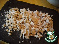 "Салат ""Белочка"" с курочкой ингредиенты"
