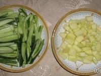 Салат праздничный  картофельный ингредиенты