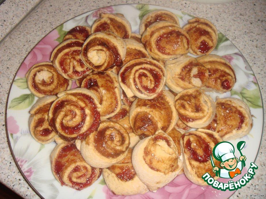 Печенье Песочные розочки