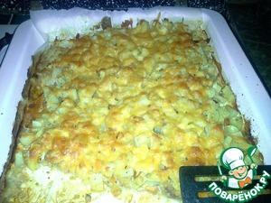 Рецепт Говядина запеченная с овощами и картофелем