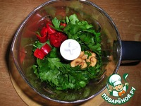 """Coriander Chicken - индийское ресторанное блюдо """"Цыплeнок в зелени"""" ингредиенты"""