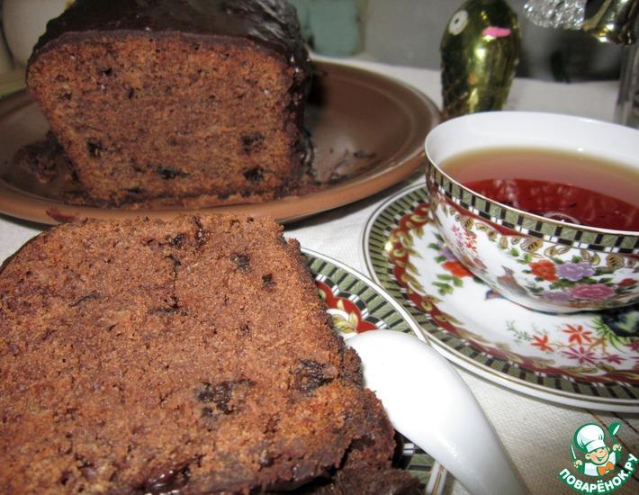 Рецепт: Рождественский кекс с черносливом и миндалем