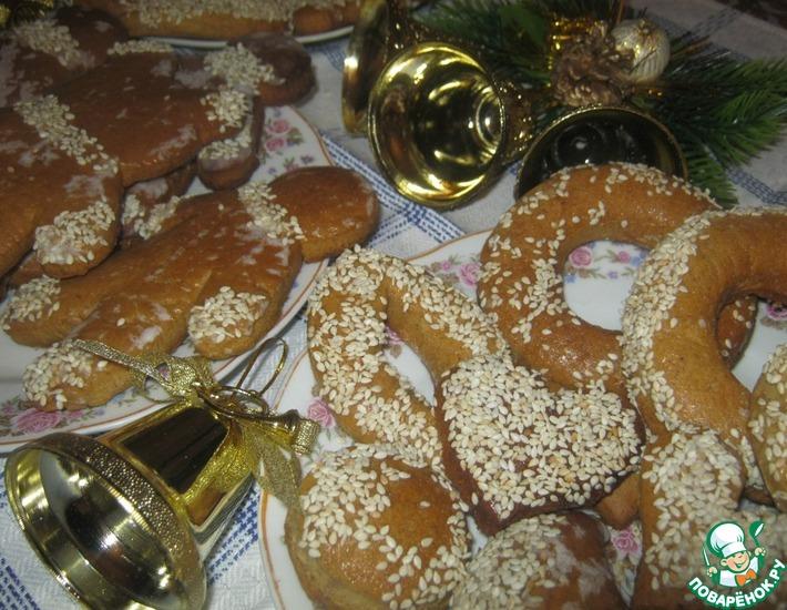 Рецепт: Пряничное печенье
