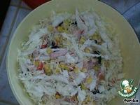 Салат с пекинской капустой и крабовыми палочками ингредиенты