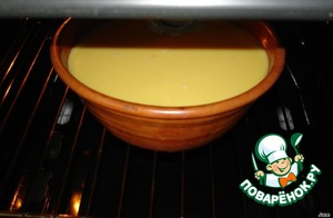 Put in the preheated oven. Bake at 180-200*C for 30-35 minutes.