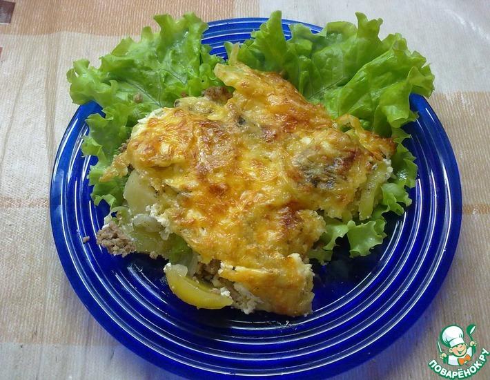 Рецепт: Картофель запеченный Ням