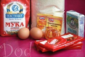 Печенье с шоколадом и ягодами