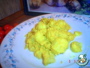 Цветная капуста, жареная с карри – кулинарный рецепт