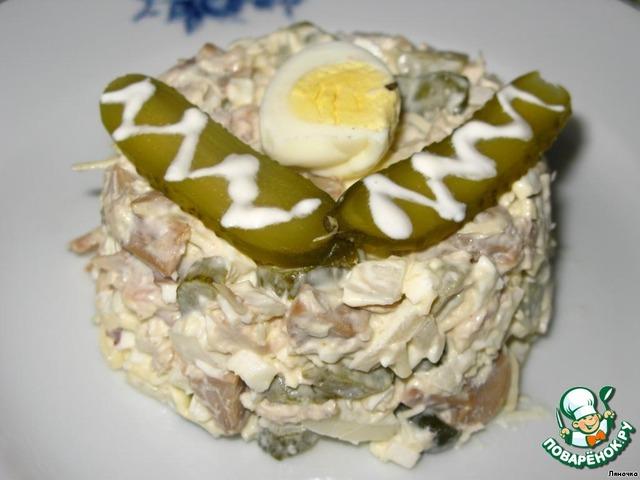 Рецепт салата юбилейный фото
