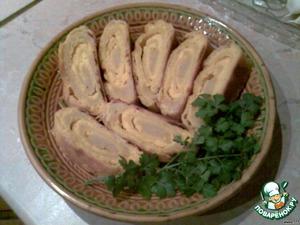 Вертута с янтарной пикантной брынзой – кулинарный рецепт