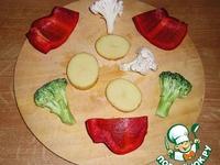 Pakoras – овощные окорочка ингредиенты