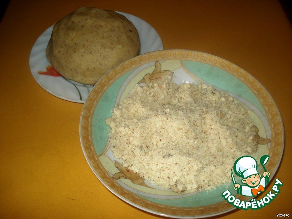 Палочки имбирно-ореховые