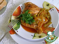 Куриные окорочка с болгарским перцем ингредиенты