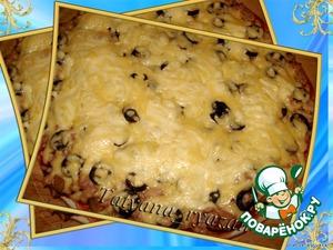 Пицца с тунцом – кулинарный рецепт