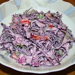 Салат из краснокочанной капусты Любимый