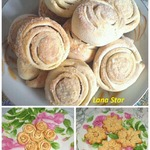 Вкусное печенье в разных вариантах оформления