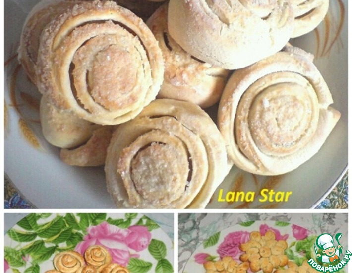 Рецепт: Вкусное печенье в разных вариантах оформления