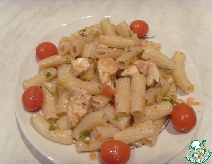 Рецепт: Макароны в сытном соусе