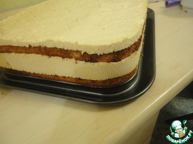 как приготовить торт суфле крем-брюле