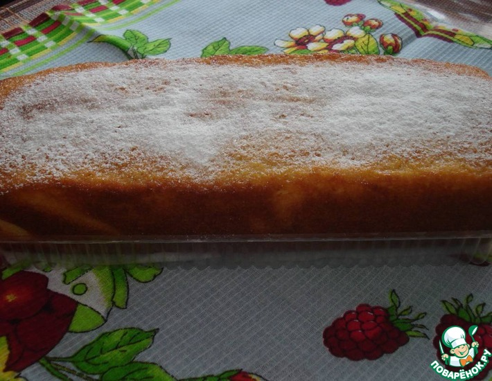 Рецепт: Нежный кекс