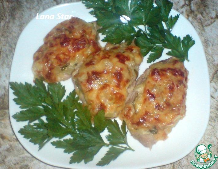 Рецепт: Мясо с ананасами