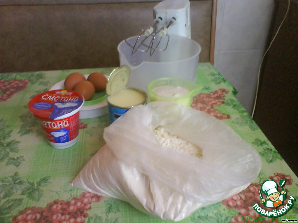 Пирожные Ежики