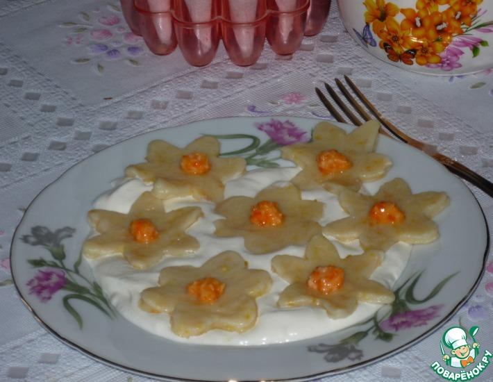 Рецепт: Ленивые вареники Цветущий апельсин