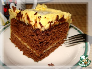 """The cake is also called """"cocktail"""" - it is easy to cut into individual cakes for the party."""
