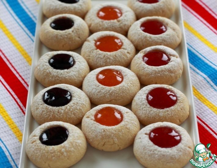 Рецепт: Печенье с конфитюром