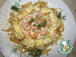 """Салат """"Клумба"""" – кулинарный рецепт"""