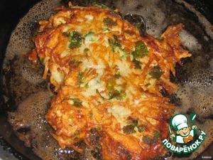 Куриные шницели в картофельной корочке – кулинарный рецепт
