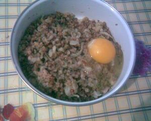 Остудить в течение 10 мин. и добавить яйцо.