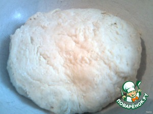 Leave the dough for 20-30 minutes.