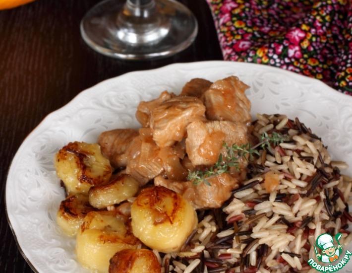 Рецепт: Свинина по-кубински