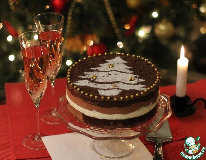 Шоколадный торт-суфле