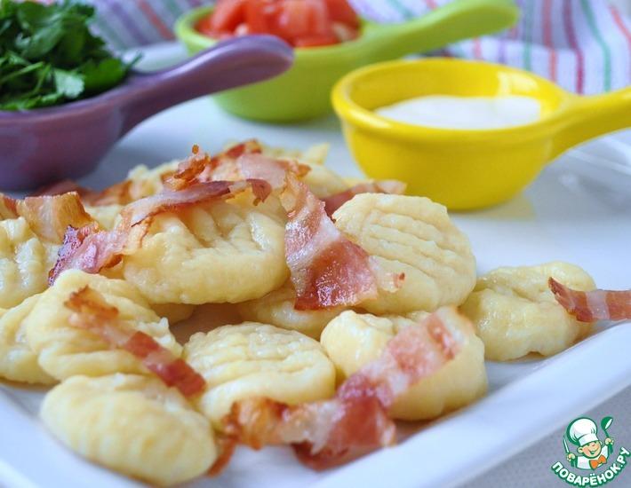 Рецепт: Картофельные ньокки